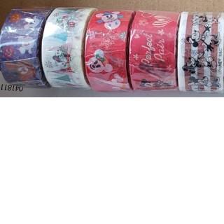 ディズニー(Disney)の【本日のみの値段!!】ディズニーキャラクター・季節物/マスキングテープセット(テープ/マスキングテープ)