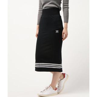 アディダス(adidas)のadidas originals タイトスカート(CRT SKIRT)(ロングスカート)