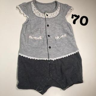 女の子ロンパース 70(ロンパース)