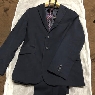 ジーユー(GU)のGU スーツ 150 ネイビー(ドレス/フォーマル)