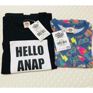 アナップキッズ(ANAP Kids)の新品未使用 アナップキッズ Tシャツ2枚セット ZARAbaby(Tシャツ/カットソー)