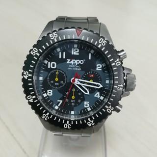 ジッポー(ZIPPO)の【ZIPPO】クロノグラフ メンズ クォーツ   (腕時計(アナログ))