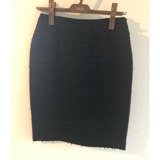 新品未使用品 ミューゼドウジ タイトスカート(ひざ丈スカート)