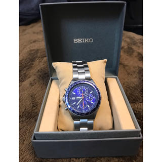 セイコー(SEIKO)のSEIKO 腕時計 クロノグラフ SND255 海外モデル(腕時計(アナログ))