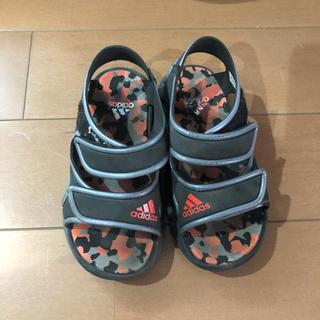 アディダス(adidas)のアディダスサンダル16.5(サンダル)