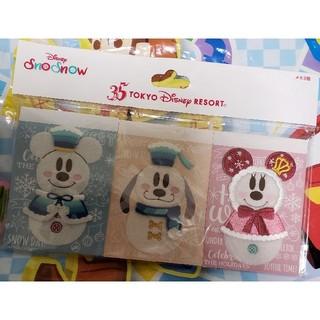 ディズニー(Disney)のディズニー・Snow snow/メモ帳セット(ノート/メモ帳/ふせん)