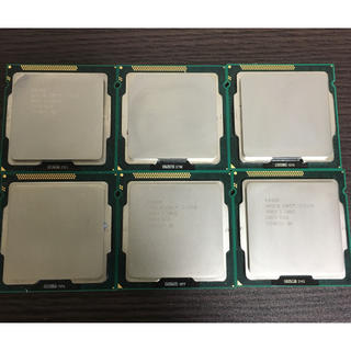 crosstao 様専用CPU Intel core i3 2120 x6(PCパーツ)