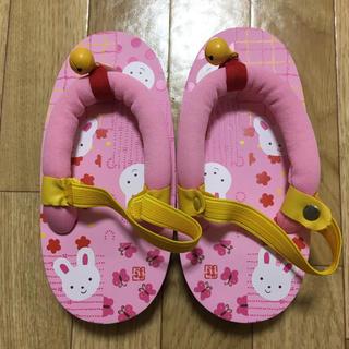 ミキハウス(mikihouse)のミキハウス  草履(下駄/草履)