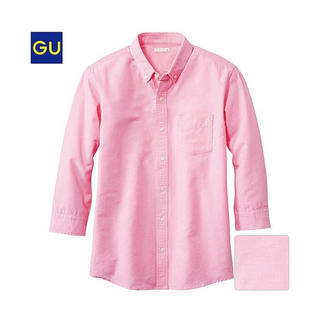 GU - ( GU ) 美品♪ オックスフォードシャツ