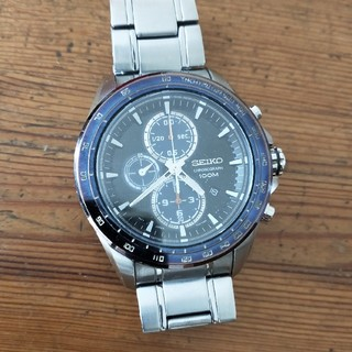 セイコー(SEIKO)のSEIKO クロノグラフ(腕時計(アナログ))