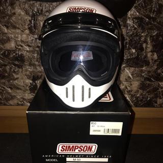 シンプソン(SIMPSON)のシンプソン SIMPSON M50 オフロード(ヘルメット/シールド)