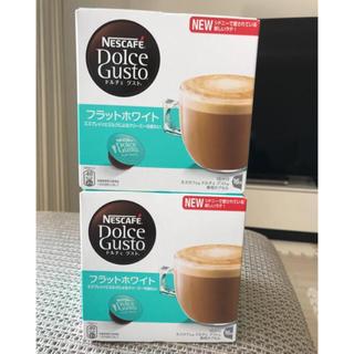 ネスカフェ ドルチェグスト フラットホワイト 30個 中身のみ(コーヒー)