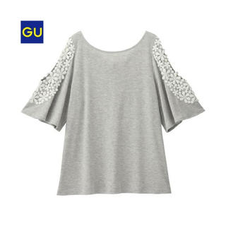 ジーユー(GU)の( GU ) 美品♪ オープンショルダーT(Tシャツ(半袖/袖なし))