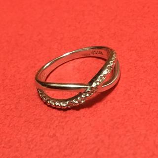 WISP ピンキーリング 4号 K10WG 5連ダイヤモンド(リング(指輪))