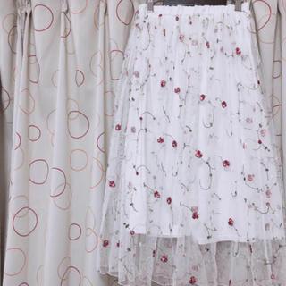 しまむら - 花柄 ロングスカート