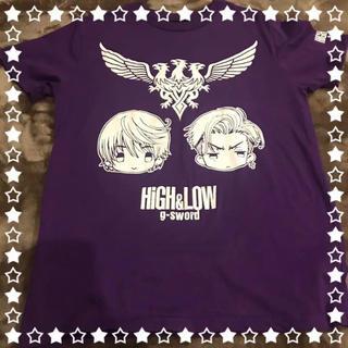 しまむら - しまむら×HiGH&LOWコラボ 雨宮兄弟Tシャツ Mサイズ