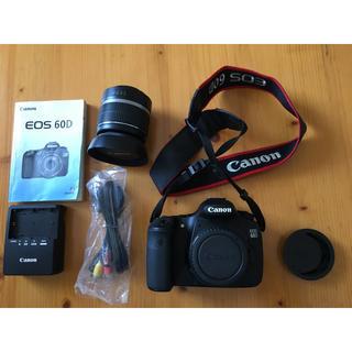 Canon EOS60D レンズ付き 中古 箱なし