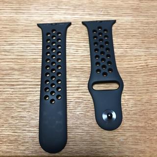 アップルウォッチ(Apple Watch)のApple Watch 38mm/40mmケース用 Nikeスポーツバンド のみ(腕時計(デジタル))
