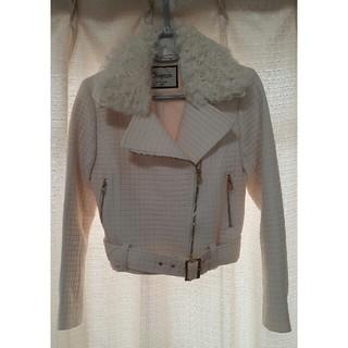 グレースコンチネンタル(GRACE CONTINENTAL)のGRACE CONTINENTAL 白いジャケット(その他)