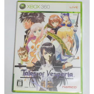 エックスボックス360(Xbox360)のXBOX360 テイルズ オブ ヴェスペリア(家庭用ゲームソフト)