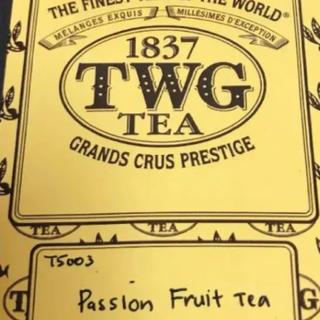ジャスミン様用 TWG ハッピーバースデーティー パッション(茶)