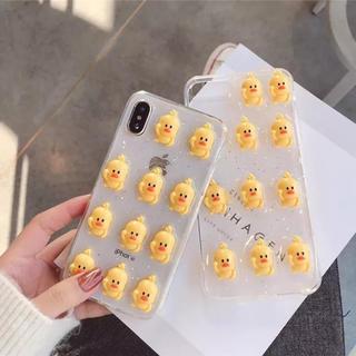 【予約商品】ひよこちゃん iPhoneケース ハンドメイド(スマホケース)