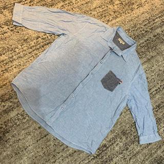 シマムラ(しまむら)の4L デニムシャツ 五部袖 しまむら(シャツ)