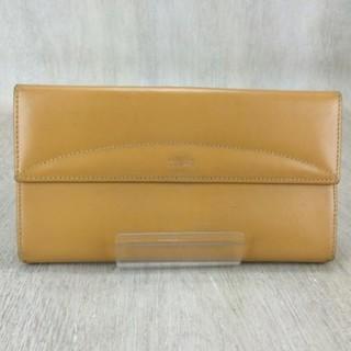57fdd1204491 ロエベ(LOEWE)のロエベ 長財布 ロングウォレット フラップ 黄色 イエロー 革 レザー 男女