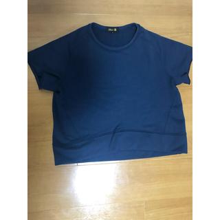 ドゥロワー(Drawer)のドゥロワー Tシャツ型スウェット 美品 ブラックTシャツ型ニット セット(トレーナー/スウェット)