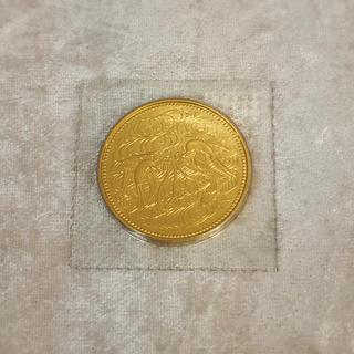 天皇陛下御在位60年記念10万円金貨(貨幣)