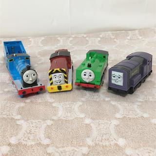 タカラトミー(Takara Tomy)のトーマス 4体セット プラレール(電車のおもちゃ/車)