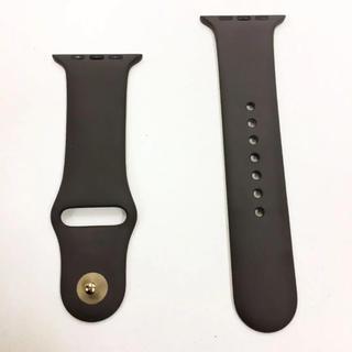 アップルウォッチ(Apple Watch)のアップル純正 ココアブラウン スポーツバンド Apple Watch 42mm(その他)