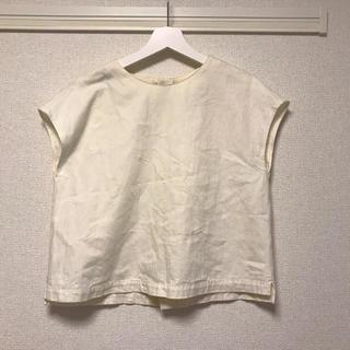 ディディジジ(didizizi)のdidizizi フレンチスリーブ ブラウス 刺繍(シャツ/ブラウス(半袖/袖なし))