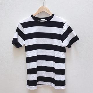 【GU】ボーダー メンズ Tシャツ
