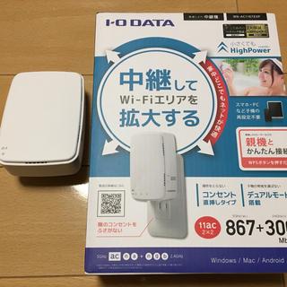 アイオーデータ(IODATA)のwn-ac1167exp 無線LAN 中継機(PC周辺機器)