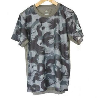 アディダス(adidas)の新品M★アディダス黒クライマクールグラフィックTシャツ(Tシャツ/カットソー(半袖/袖なし))