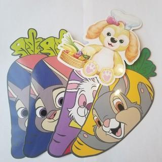 ディズニー(Disney)のディズニー ポストカード 5枚セット 香港ディズニー 海外 絵はがき(キャラクターグッズ)