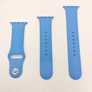 アップルウォッチ(Apple Watch)のアップル純正バンド ブルー Apple Watch 38mm 40mm(その他)
