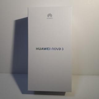 新品未開封 HUAWEI nova 3 レッド simフリー 国内版(スマートフォン本体)
