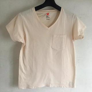 マウジー(moussy)のmoussy ×hanes Tシャツ(Tシャツ/カットソー(半袖/袖なし))