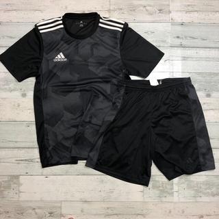アディダス(adidas)のアディダス サッカー フットサル シャツ+パンツ 上下セット 練習着(ウェア)
