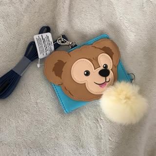 ディズニー(Disney)の新品ダッフィー カードケース(キャラクターグッズ)
