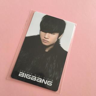 ビッグバン(BIGBANG)のBIGBANG テソン トレカ(アイドルグッズ)