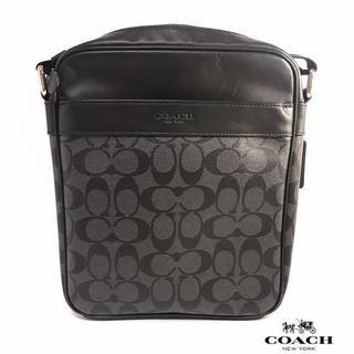 d52a111e713e コーチ(COACH)の新品!COACH シグネチャーショルダーバッグ/Charcoal/Black(
