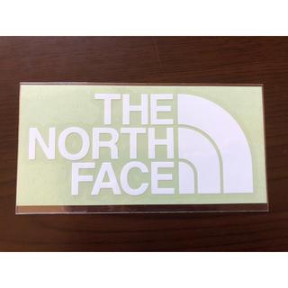 ザノースフェイス(THE NORTH FACE)のノースフェイス ステッカー 白(ステッカー)
