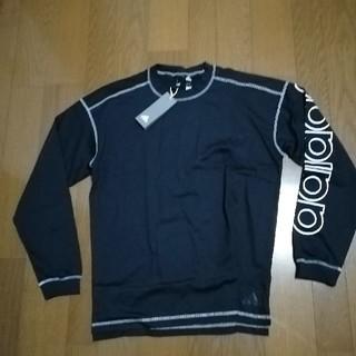 アディダス(adidas)のadidas19SS ロングスリーブT 黒L 未使用タグ付き(Tシャツ/カットソー(七分/長袖))