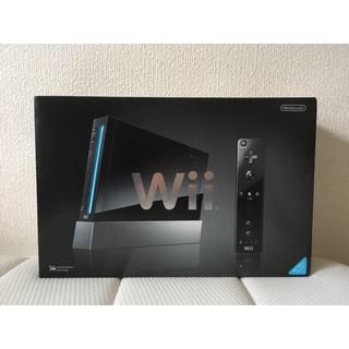 Wii - 【未使用】Wii 本体 任天堂 ブラック