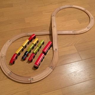 木製レール&電車セット