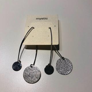 ミスティック(mystic)のmystic ミスティク 新品 シルバーピアス(ピアス)