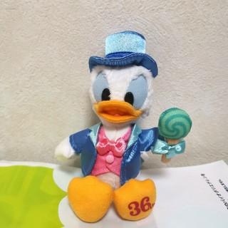 ディズニー(Disney)のディズニーランド 36周年 ドナルド ぬいば(キャラクターグッズ)